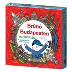 Brúnó Budapesten Városnézés