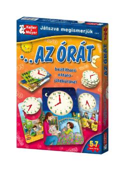 Játszva megismerjük az órát