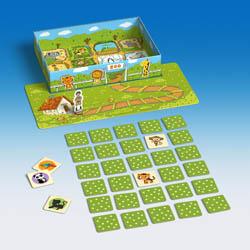 Zoo memória társasjáték